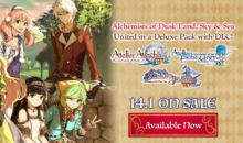 ATELIER DUSK TRILOGY DELUXE PACK, la serie rinnovata su PS4, Switch e Steam da oggi