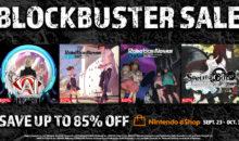 Sconti fino all'85% su PS4, Switch e Steam per i titoli targati Spike Chunsoft