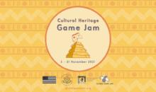 CULTURAL HERITAGE GAME JAM , dal 5 al 21 novembre