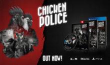 Il poliziesco Chicken Police  –  Paint It Red, è in arrivo in retail