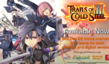 TRAILS OF COLD STEEL III è adesso anche su Nintendo Switch