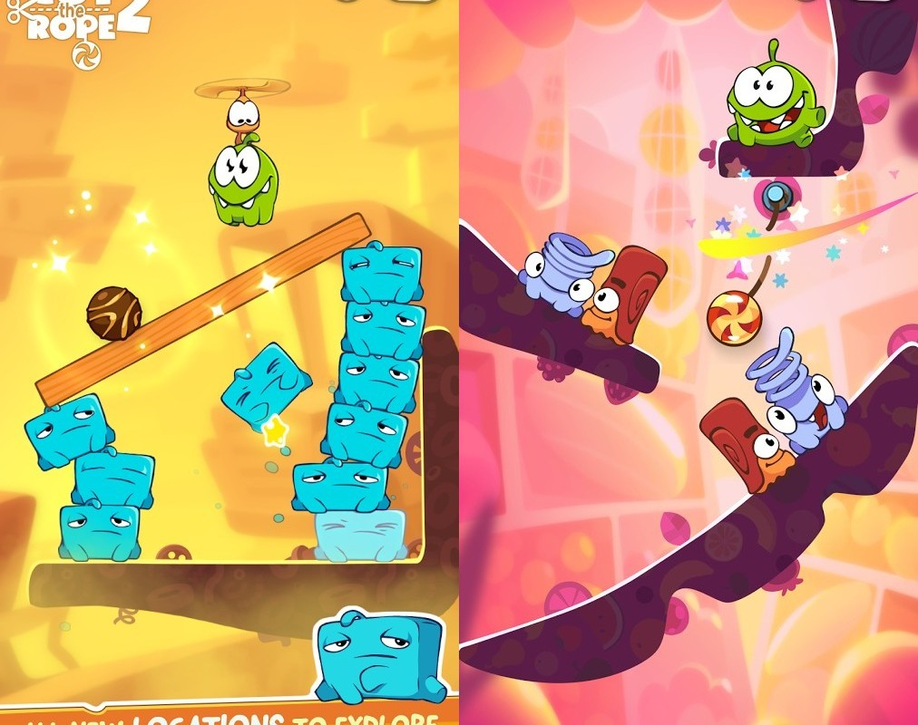 cut the rope 2 android gratis
