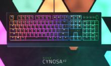 Razer Cynosa V2: illuminazione RGB personalizzabile per singolo tasto e controlli multimediali dedicati