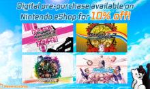 Il nuovo trailer rivela gli sconti sul preacquisto digitale per i titoli Danganronpa su Nintendo Switch