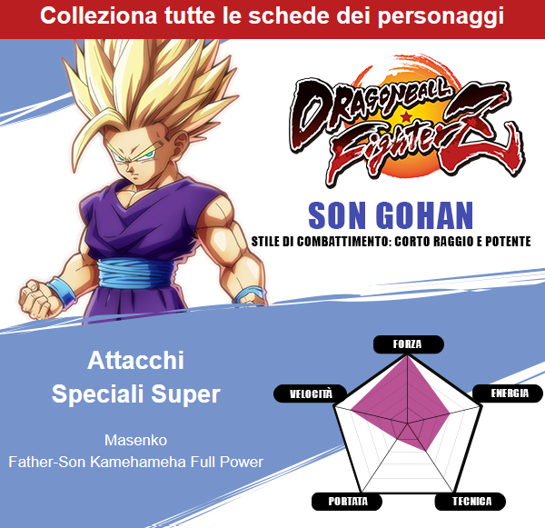 dragon ball fighterz son gohan