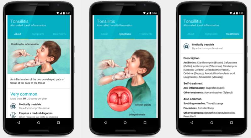 esempio app medica google sel