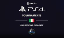 FIFA 21 Club Scouting Challenge PS4 in collaborazione con l'Inter: Al vincitore una PS5, Iscrizioni Aperte