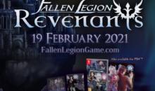 Fallen Legion Revenants sarà disponibile per PlayStation4 e Nintendo Switch