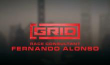 Fernando Alonso protagonista del primo Race Consultant Diary di GRID