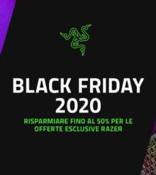 Black Friday Accessori Gaming Razer: ecco come approfittarne