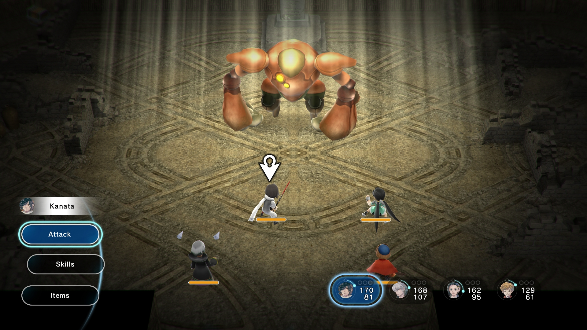 lost sphear nuovo gameplay