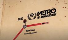 METRO EXODUS annunciato per le next-gen: nuovo video per i 10 anni