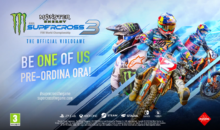 MONSTER ENERGY SUPERCROSS – THE OFFICIAL VIDEOGAME 3, Presentato con un video tra RAP e Gaming