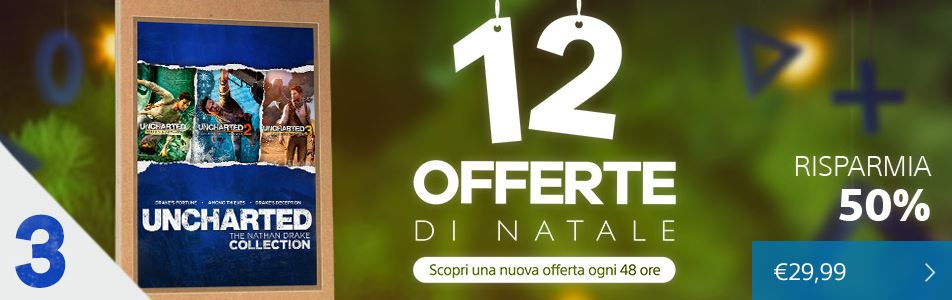offerta 3 natale 2015 ps store