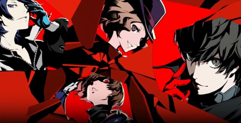 persona 5 launch trailer