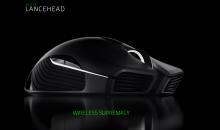 RAZER LANCEHEAD WIRELESS aggiornato con sensore ottico 5G da 16000 DPI