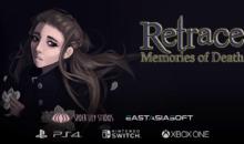 Retrace: Memories of Death, avventura, misteri, enigmi da risolvere in pixel art, in arrivo questa settimana su PS4, XB1 e Switch