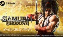 Samurai Shodown è ora disponibile su Steam insieme al personaggio DLC Shiro Tokisada Amakusa