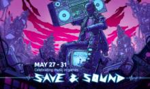 Save & Sound in streaming fino al 30 maggio, musica e giochi in primo piano