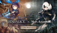 SINOALICE x NieR Automata collaborazione e dettagli al lancio del RPG Mobile