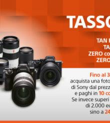 SONY proroga la Promozione Tasso Zero su fotocamere e ottiche fino al 30 aprile