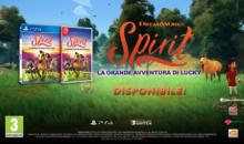 DreamWorks Spirit La Grande Avventura di Lucky è arrivato su console e PC