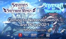 Saviors of Sapphire Wings, nuovo DRPG in arrivo nel 2021 su Switch e PC