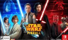 Star Wars Pinball è arrivato per console Nintendo Switch