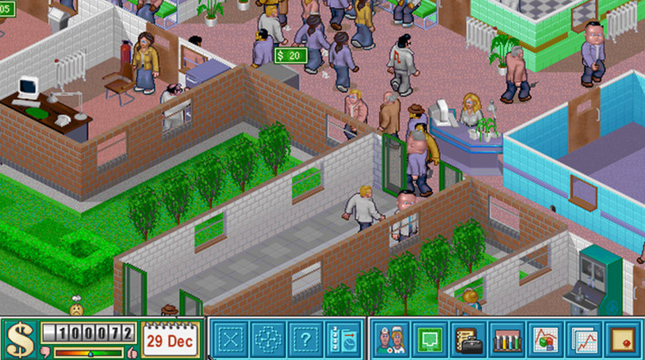theme hospital gratis su origin ea com