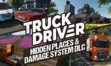 """Truck Driver: arriva il DLC gratuito """"Hidden Places & Damage System"""" anche su Nintendo Switch"""
