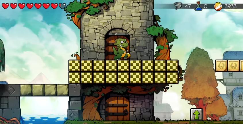 wonder boy the dragon s trap