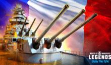 Una nuova nazione si unisce ai combattimenti in World of Warships: Legends