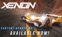 Xenon Racer: Update gratuito numero 3, tra nuovi circuiti e nuovo team