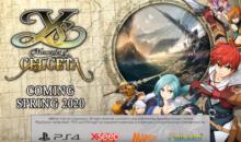 Ys: Memories of Celceta, il remake action RPG arriva nel 2020 su PS4 con alcune novità